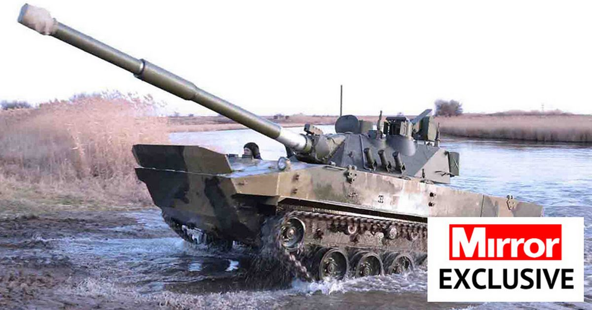 Russia shows off deadly new amphibious battle tank sparking fears for Ukraine