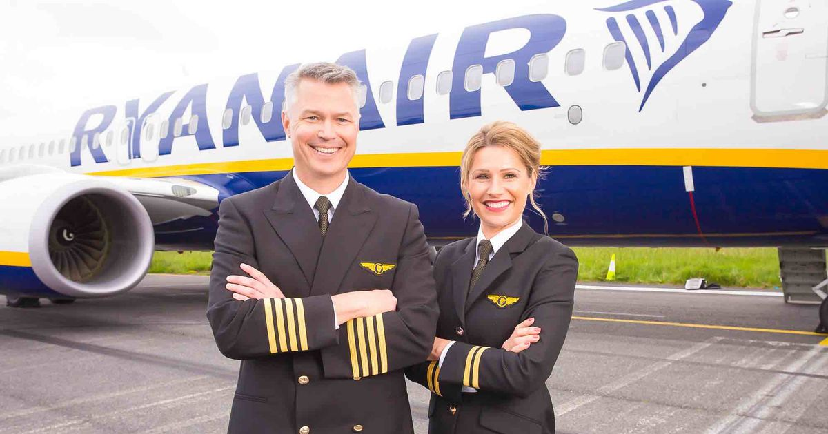 Ryanair taking on more than 2,000 pilots - from trainees to experienced crew