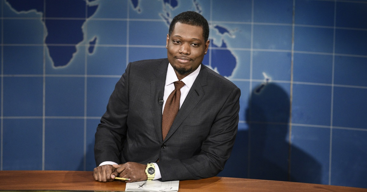 SNL's Michael Che promotes live show after Simone Biles controversy