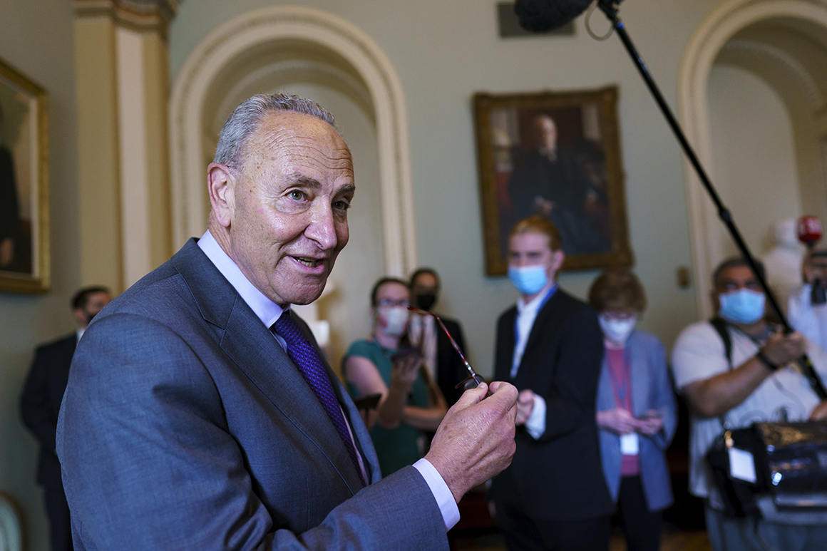 Schumer announces he has votes for moving $3.5T package