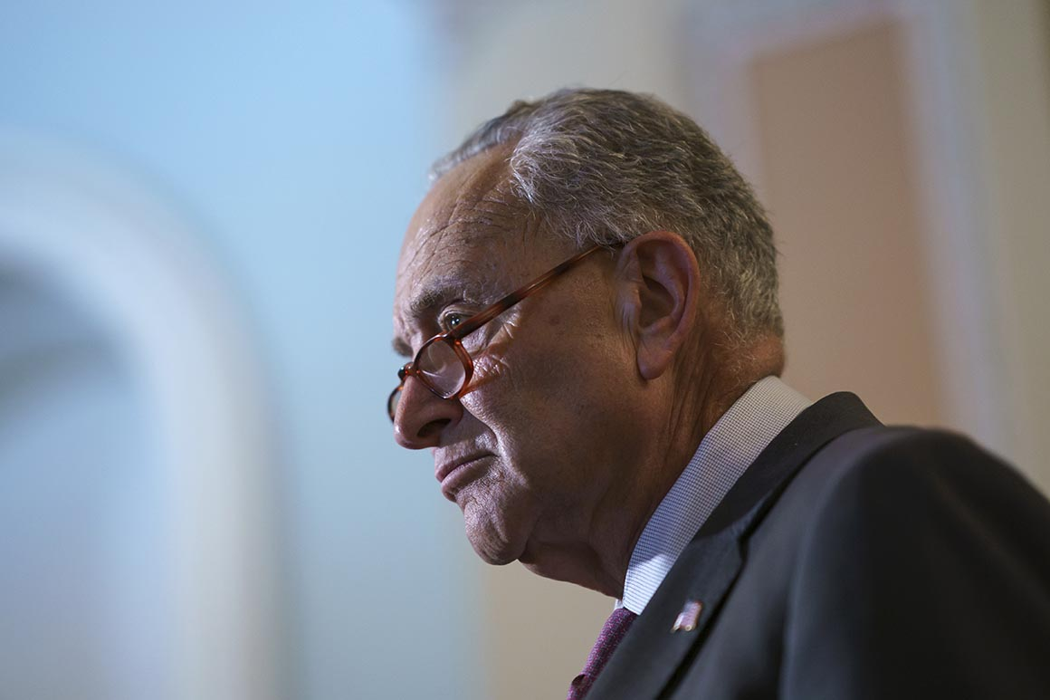 Schumer launches long-shot bid for legal weed