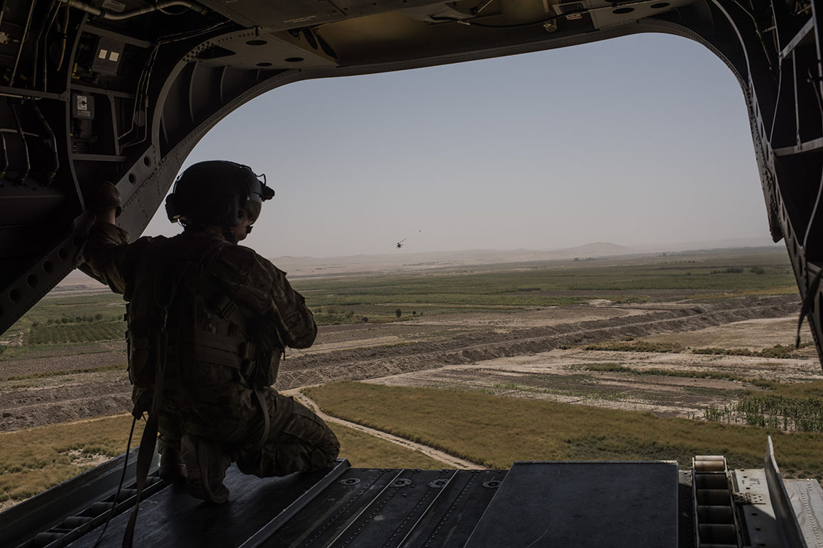 Sources: U.S. troop withdrawal from Afghanistan complete 'for all intents and purposes'