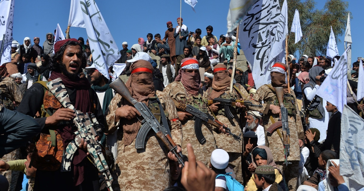 Taliban parade weapons, seize territory from Afghan army as U.S. withdraws