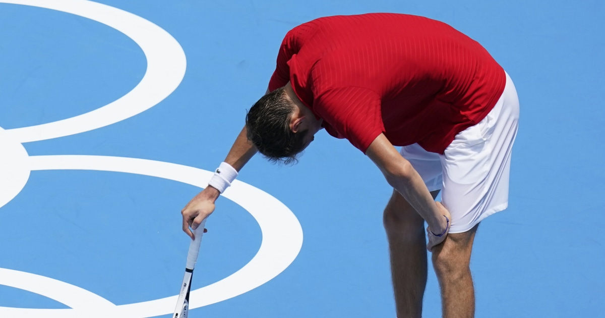 Tennis star says he could 'die,' in Tokyo heat, another leaves court in a wheelchair