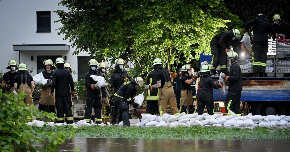 Thirty people missing as horror flooding causes houses to collapse in Germany