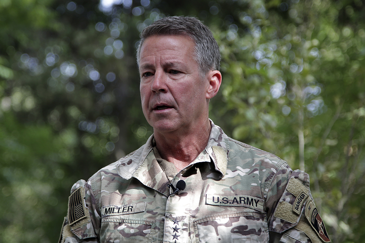Top U.S. general in Afghanistan to step down Monday