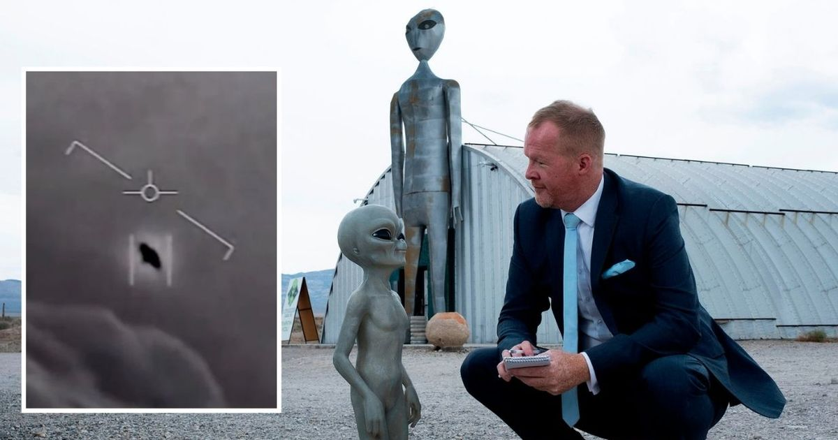 UFO hunting reporter from Hull visits Area 51 and this is what he found