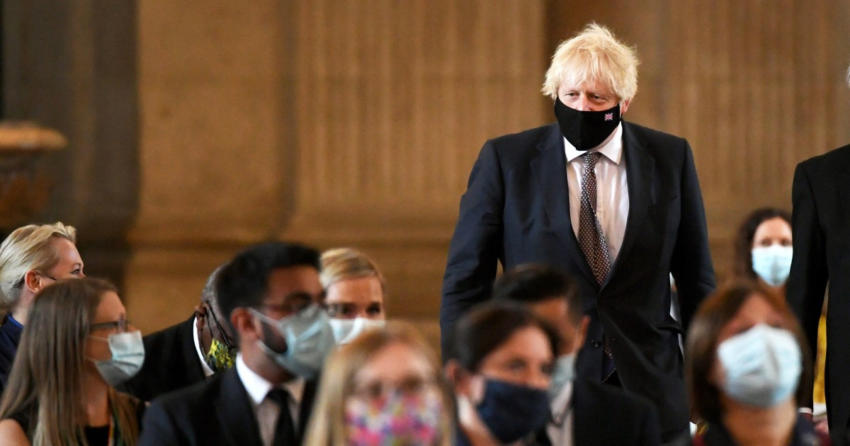 U.K. PM Johnson outlines end to England's virus restrictions