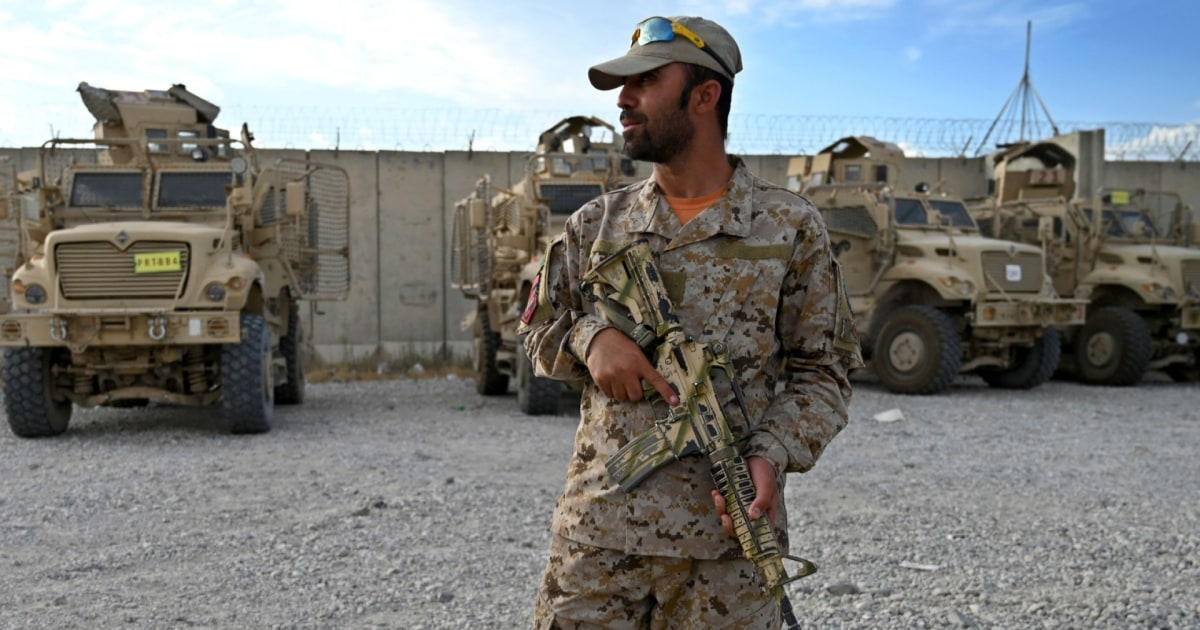 U.S. hands over military facilities to Afghan forces as Taliban gains ground