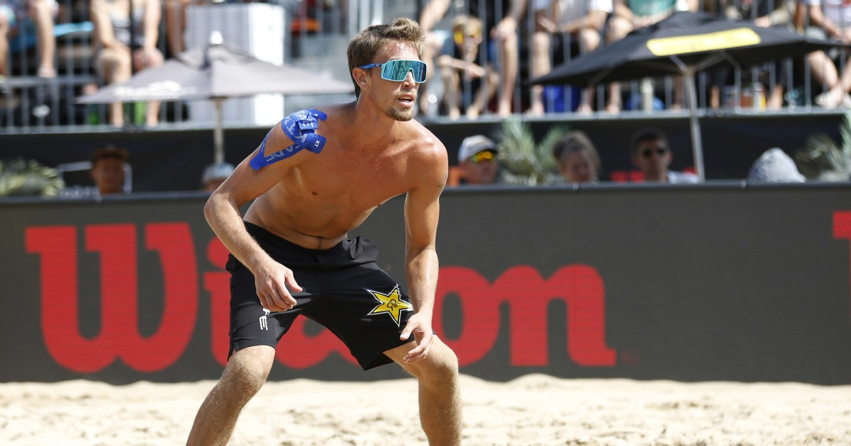 U.S. volleyball Olympian tests positive for Covid days before Tokyo Games start