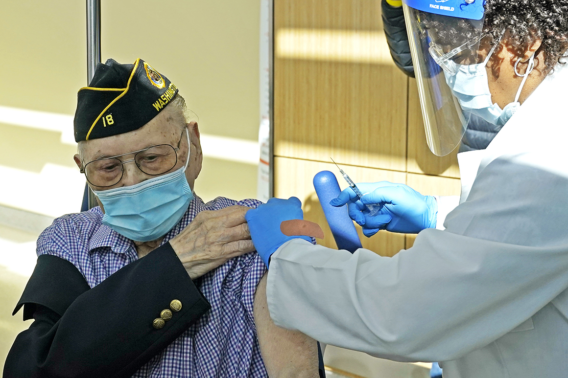 VA sets vaccine requirement for frontline health care workers