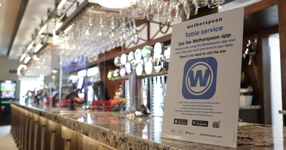 Wetherspoons say they'll soon have to start charging more for food