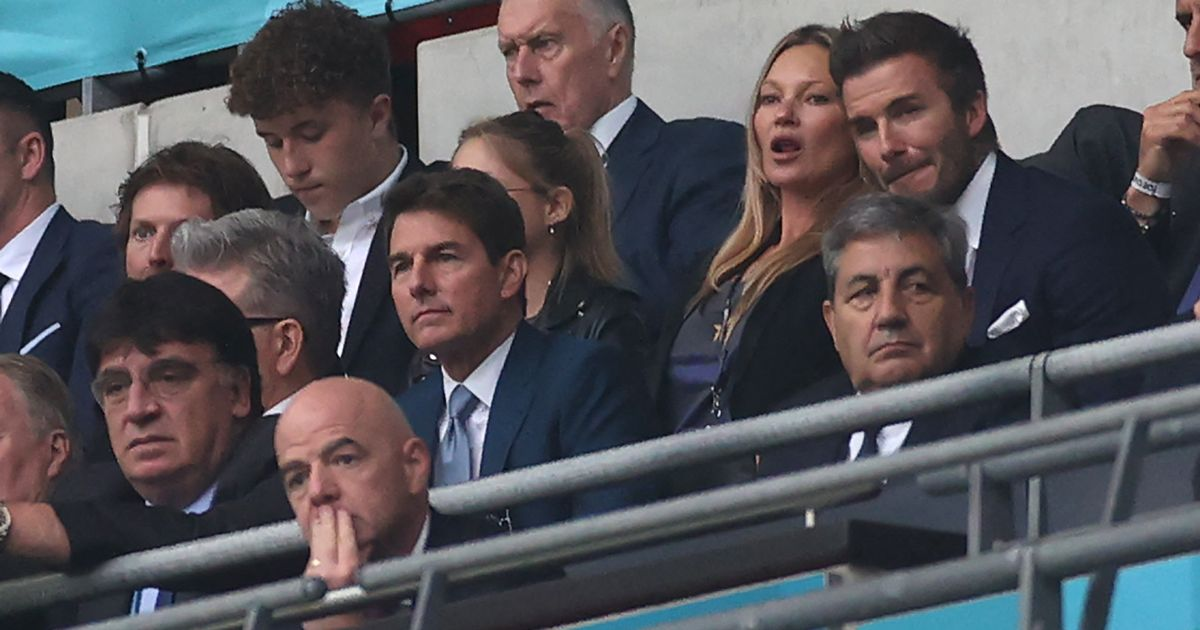 Why Tom Cruise is at England v Italy Euro 2020 final tonight