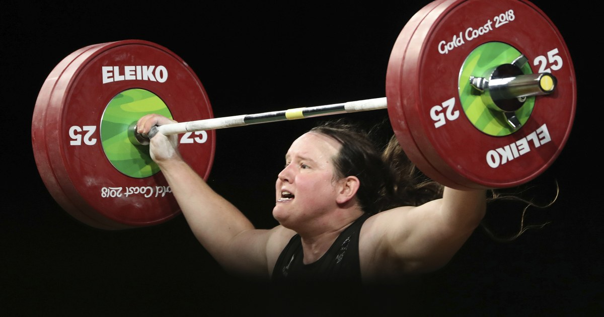 With Olympics' backing, Laurel Hubbard will be first trans athlete in Games' history