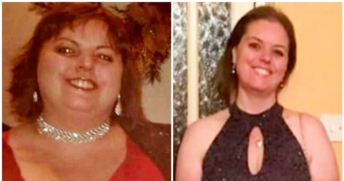 Woman loses six stones and walks 5,000 miles after she was called pregnant
