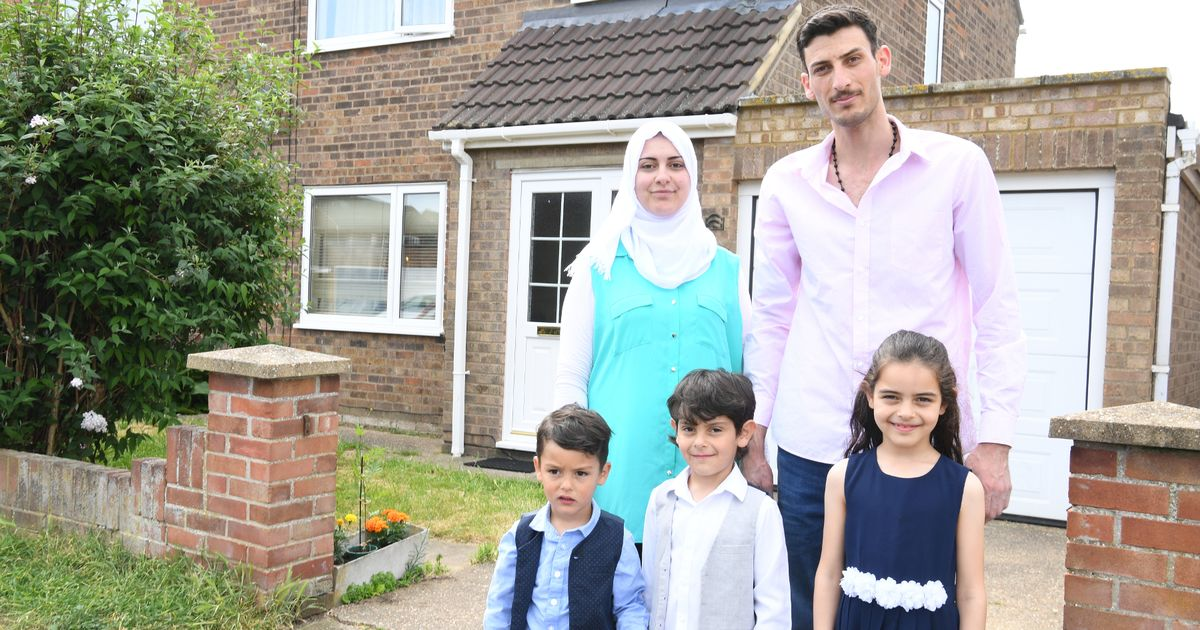 The story of the Alghazali family, Marian, her husband Basel and their children Rashed, Ziad and Rana, is uplifting