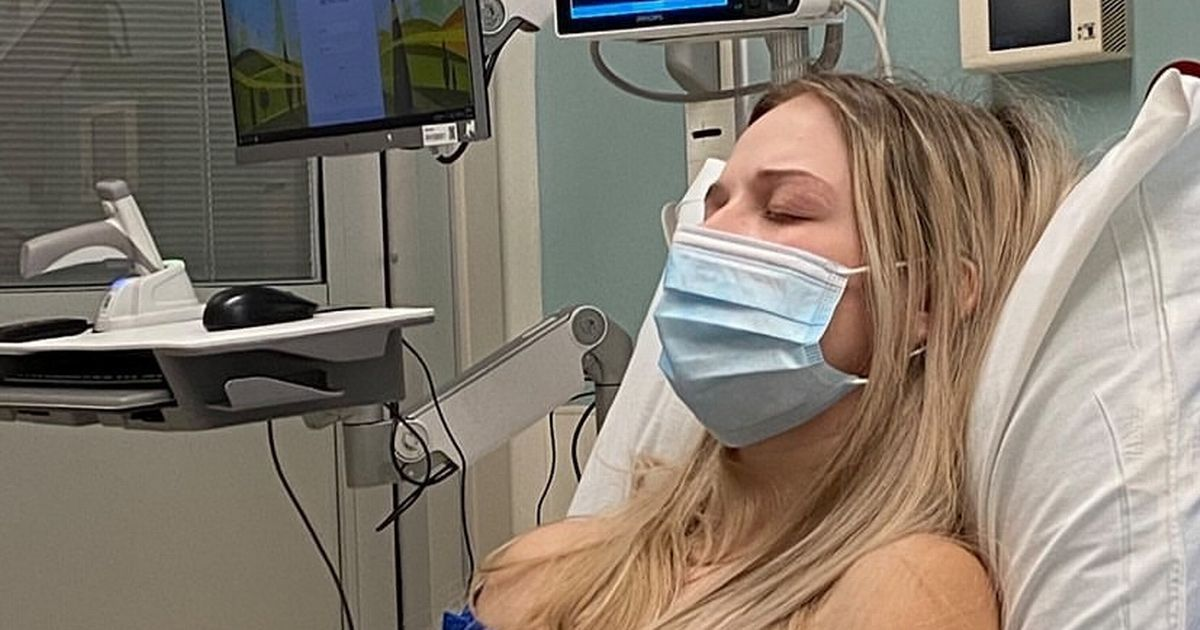 'I couldn't comprehend what was happening' Young mum's 'horror' pregnancy which had her vomiting 130 times a day