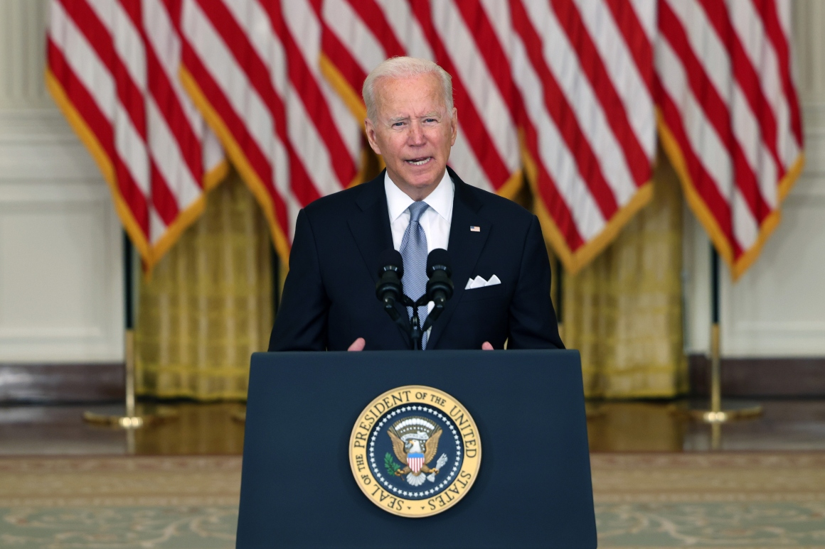 'I stand squarely behind my decision': Biden holds firm on Afghanistan drawdown