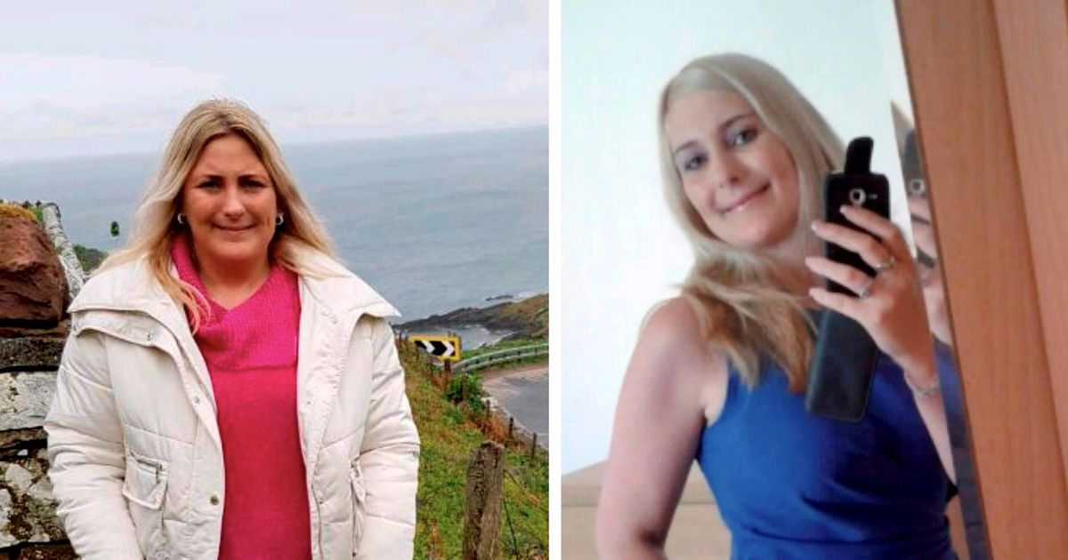 'People don't recognise me anymore' Woman loses six stone to squeeze back into her favourite blue dress