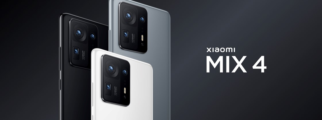 Xiaomi Announces Mi Mix 4 With Snapdragon 888+ and Under-Screen Camera