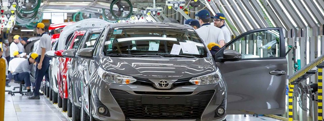 Toyota to two factories in Brazil for lack of chips