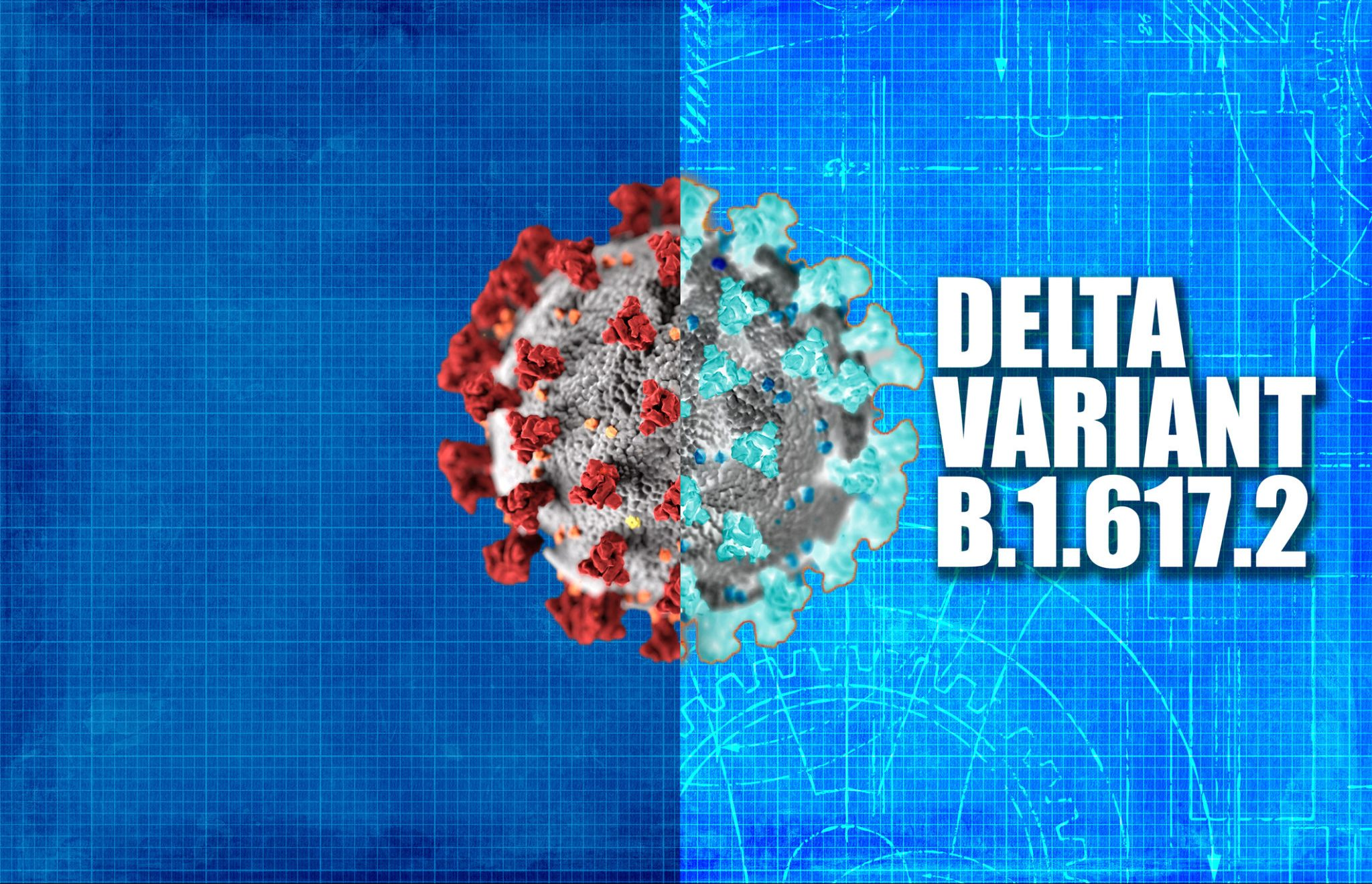 Delta variant carries 300 times more viral load