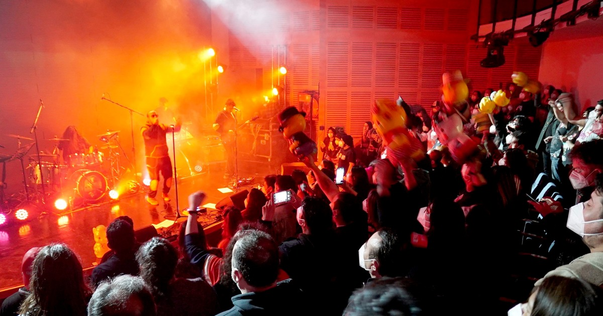 A concert during Covid with screaming and dancing? Here's why they did it.