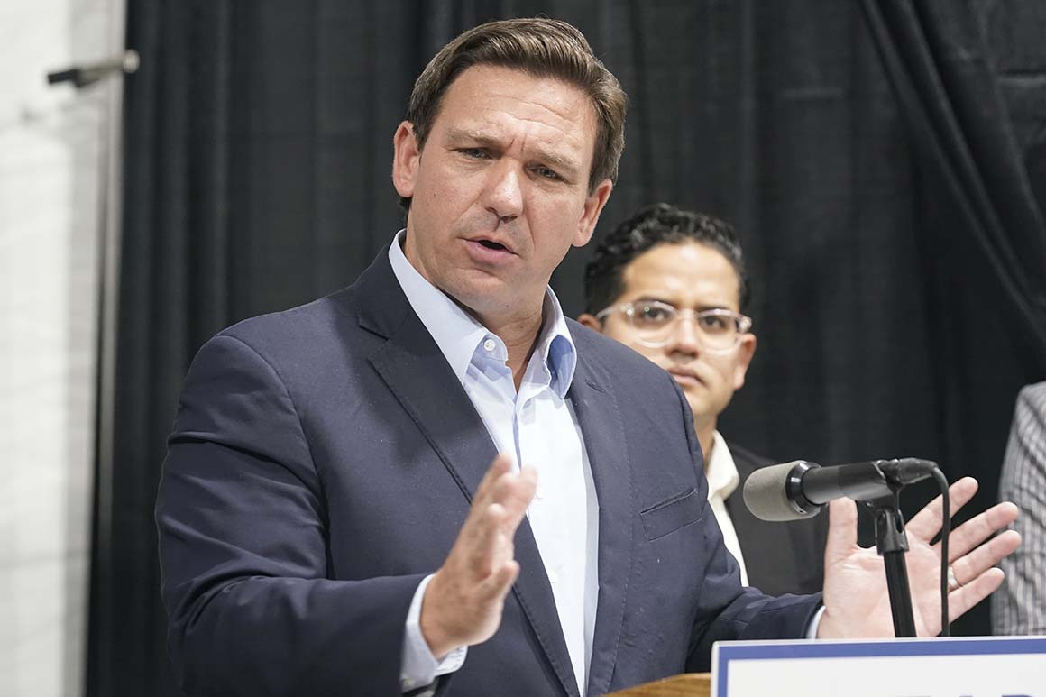 AP urges DeSantis to end bullying aimed at reporter