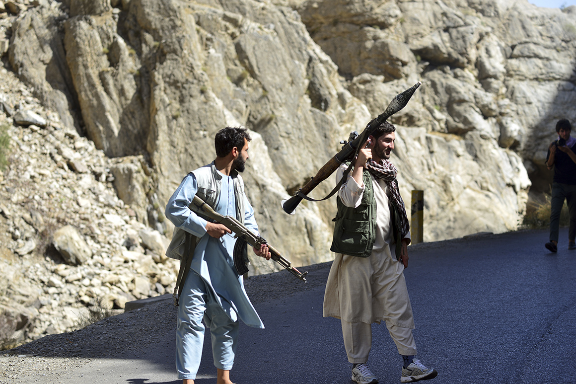 Afghanistan's a sh*tshow. But for K Street, it's an opportunity.