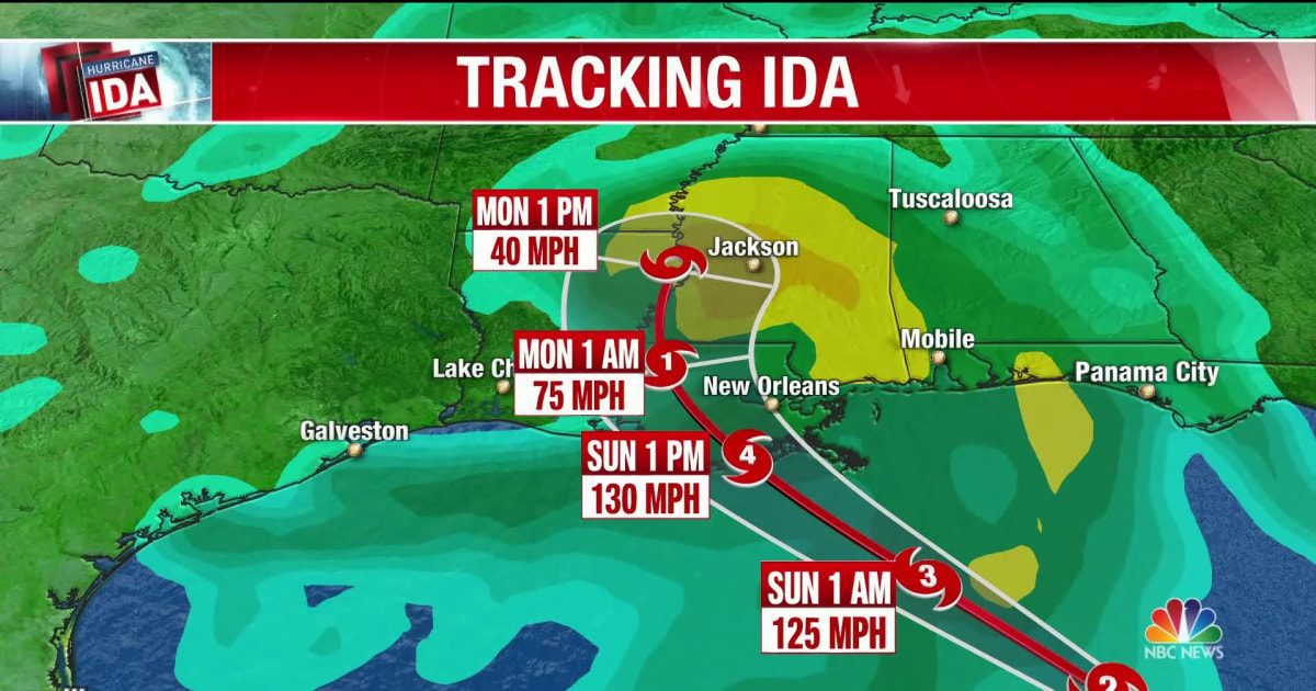 Baton Rouge officials hope Hurricane Ida moves through quickly