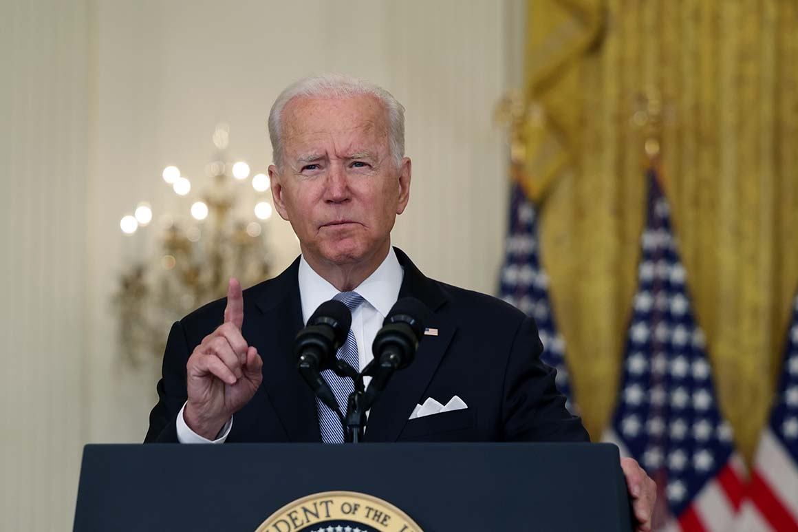Biden: I would have sought Afghanistan withdrawal even without Trump's Taliban deal