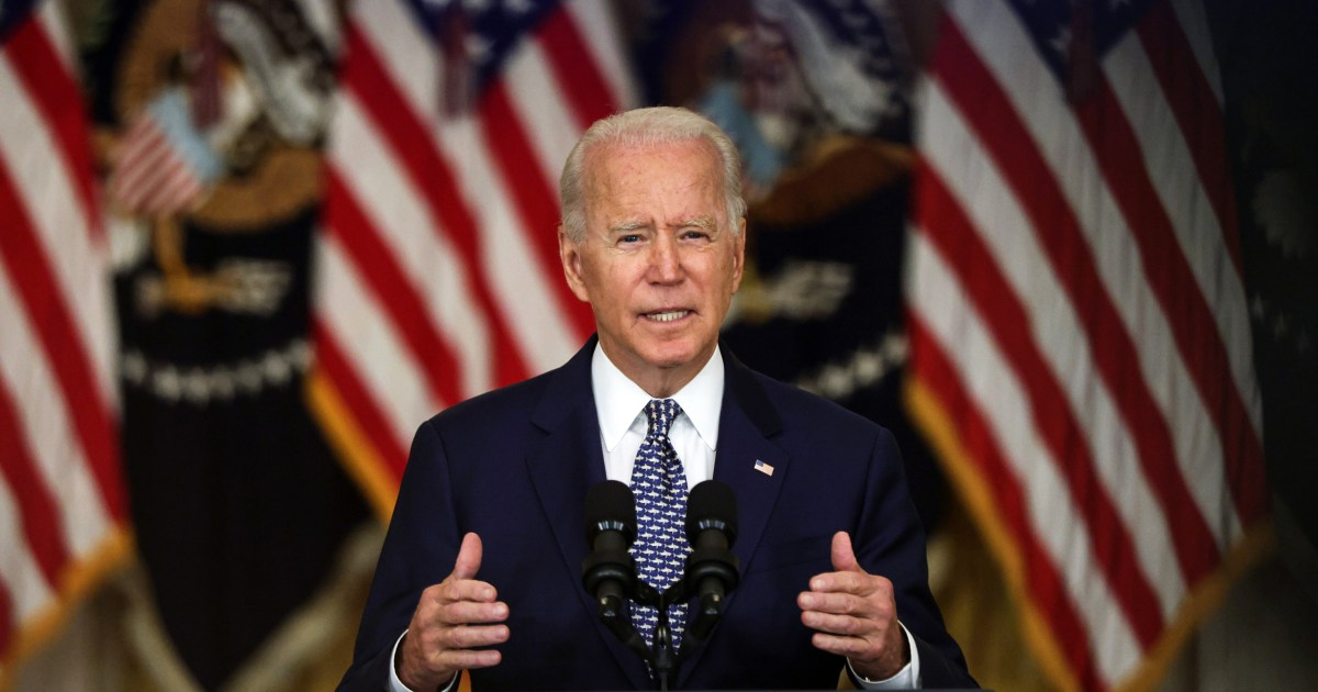 Biden defends Afghanistan policy amid mounting criticism