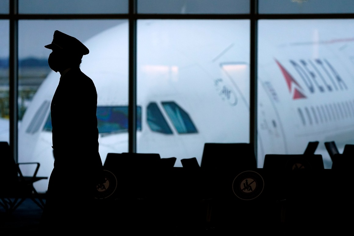 Delta Air Lines will force unvaccinated employees to pay health care surcharge