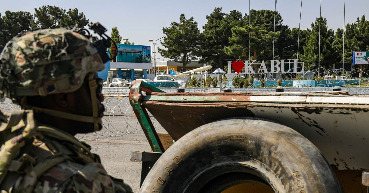 Explosion at Kabul airport - casualties 'unclear at this time'