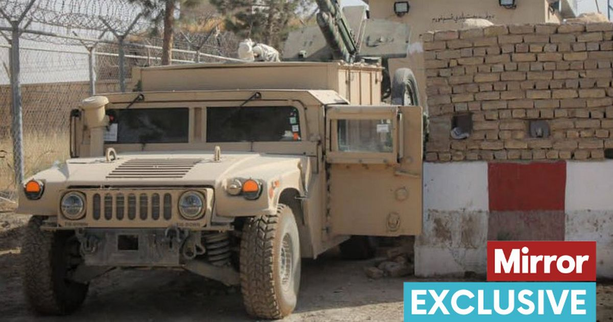 A huge number of military vehicles and equipment captured by Taliban in Kunduz on Aug 12, 2021 as the insurgents