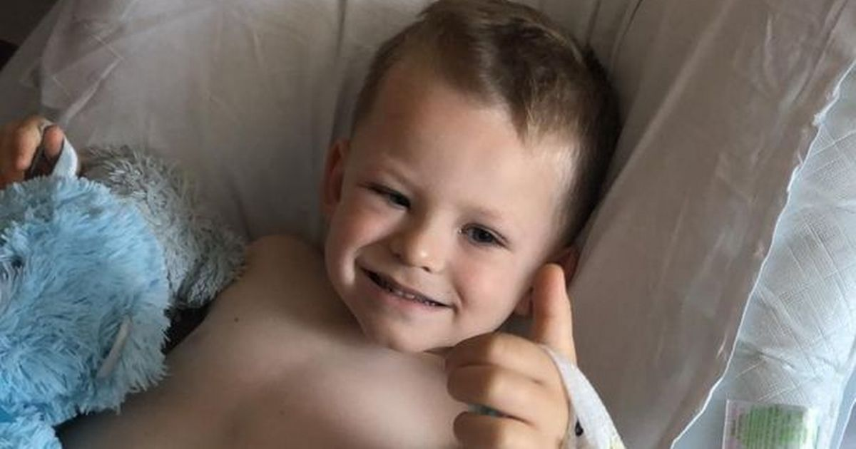 Family thought boy, 4, had heat rash but he was suddenly diagnosed with cancer