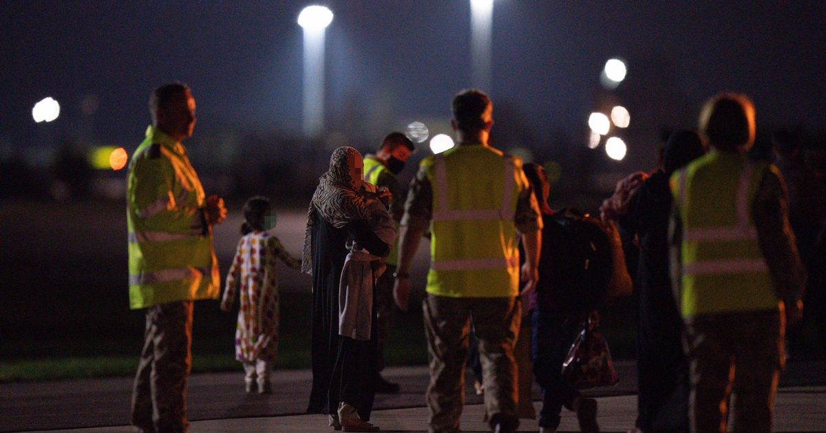 Final evacuation flight to UK departs Kabul as troops get ready to leave