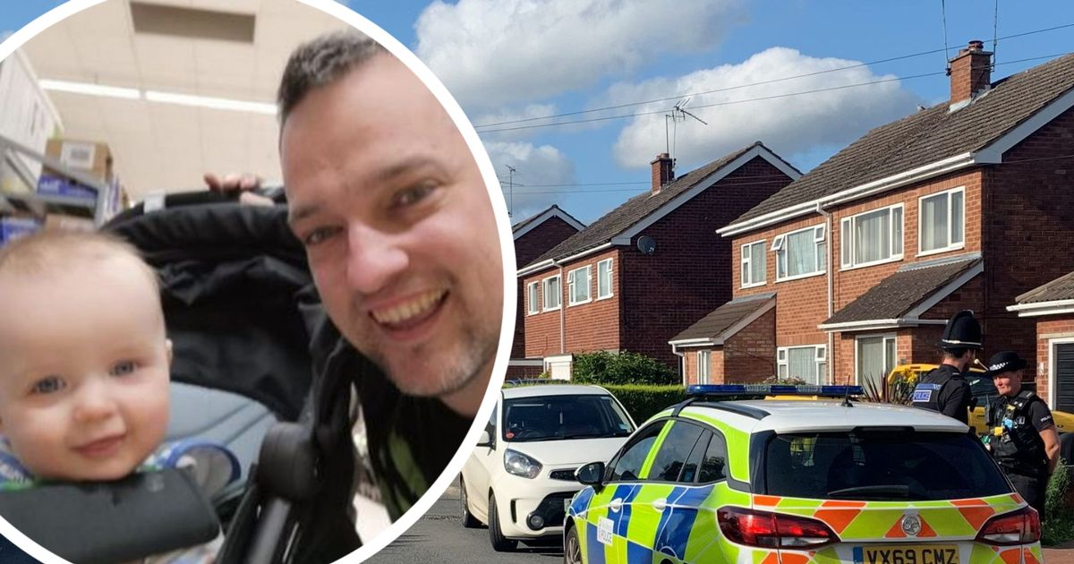 First picture of detective dad and three-year-old son found dead at home as wife pays tribute