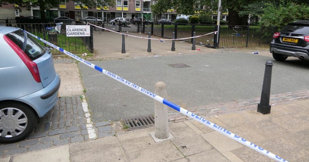 Four people injured following shooting at a communal barbeque