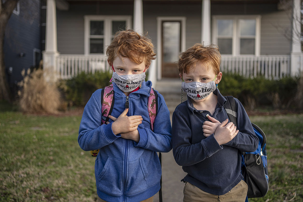 GOP bans on school masks draw federal civil rights challenges