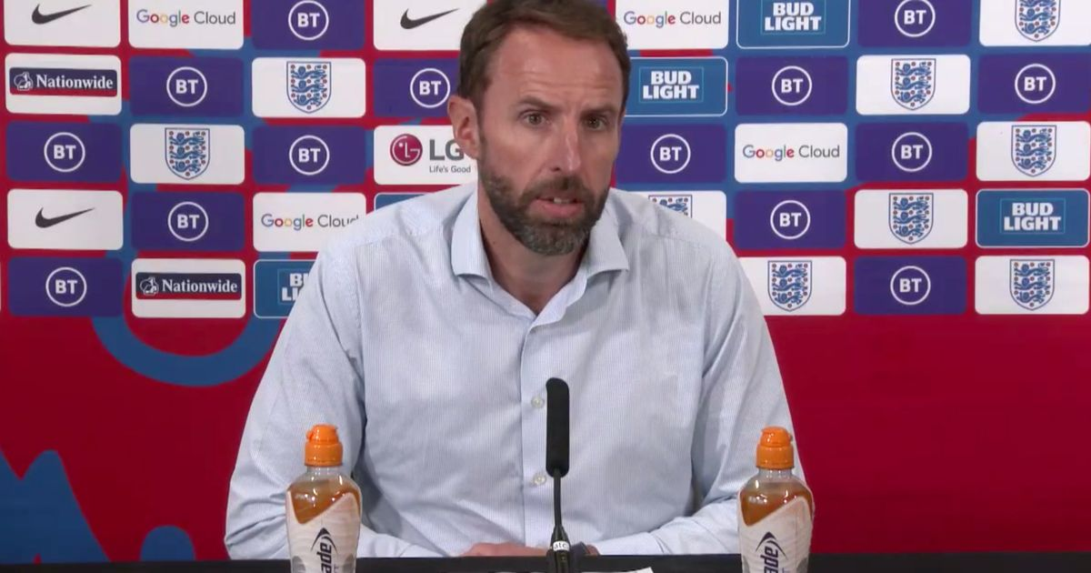 Gareth Southgate targeted for online abuse over backing of Covid vaccinations