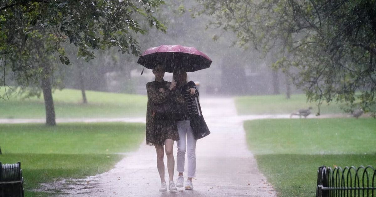 Heavy rain and wind expected in 'unsettled' September