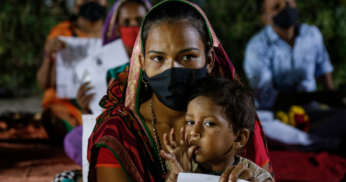 India facing another Covid surge and hampered by low vaccine coverage