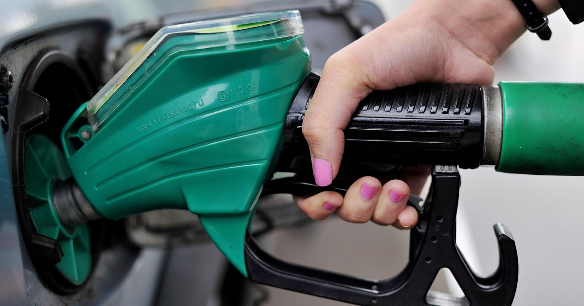 Inflation has slowed as clothes are cheaper but petrol prices have reached eight-year highs