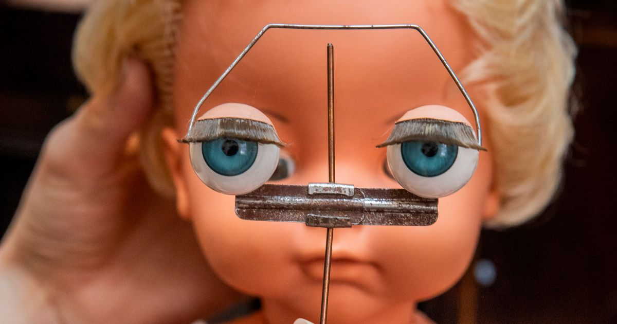 Inside the toy hospital where precious teddies and dolls are painstakingly restored