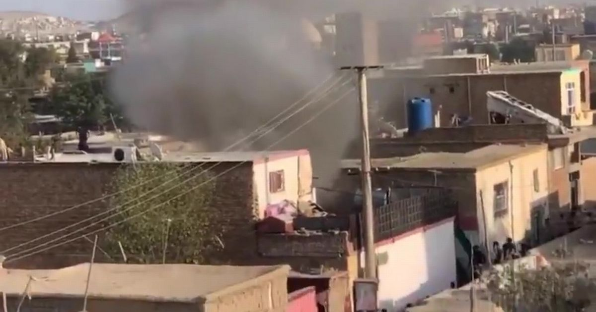 Kabul rocket attack kills child and injures 3 people as house hit hours after UK leave