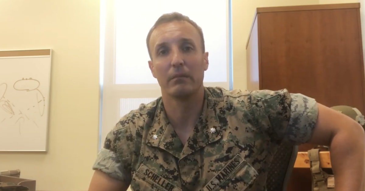 Marine officer relieved of duty after questioning senior leaders in Afghanistan
