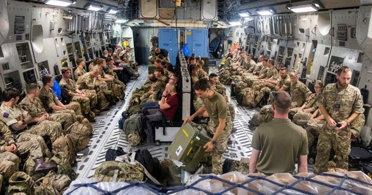 Military mission to evacuate UK nationals from Afghanistan under way