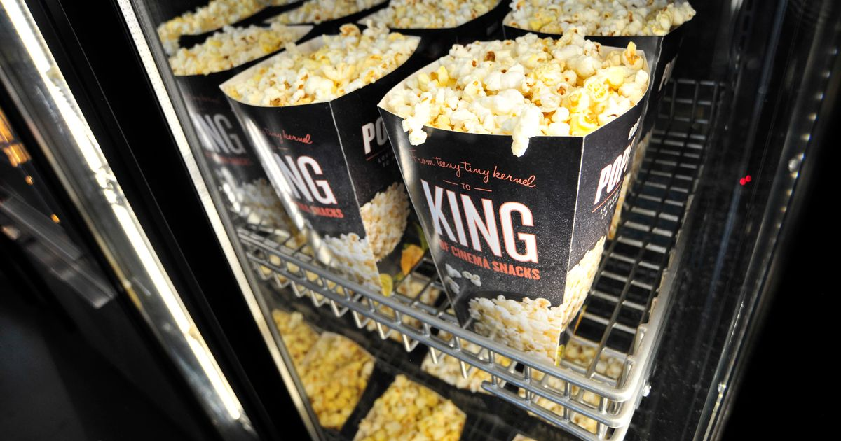 One cinema chain where sneaking snacks in is banned