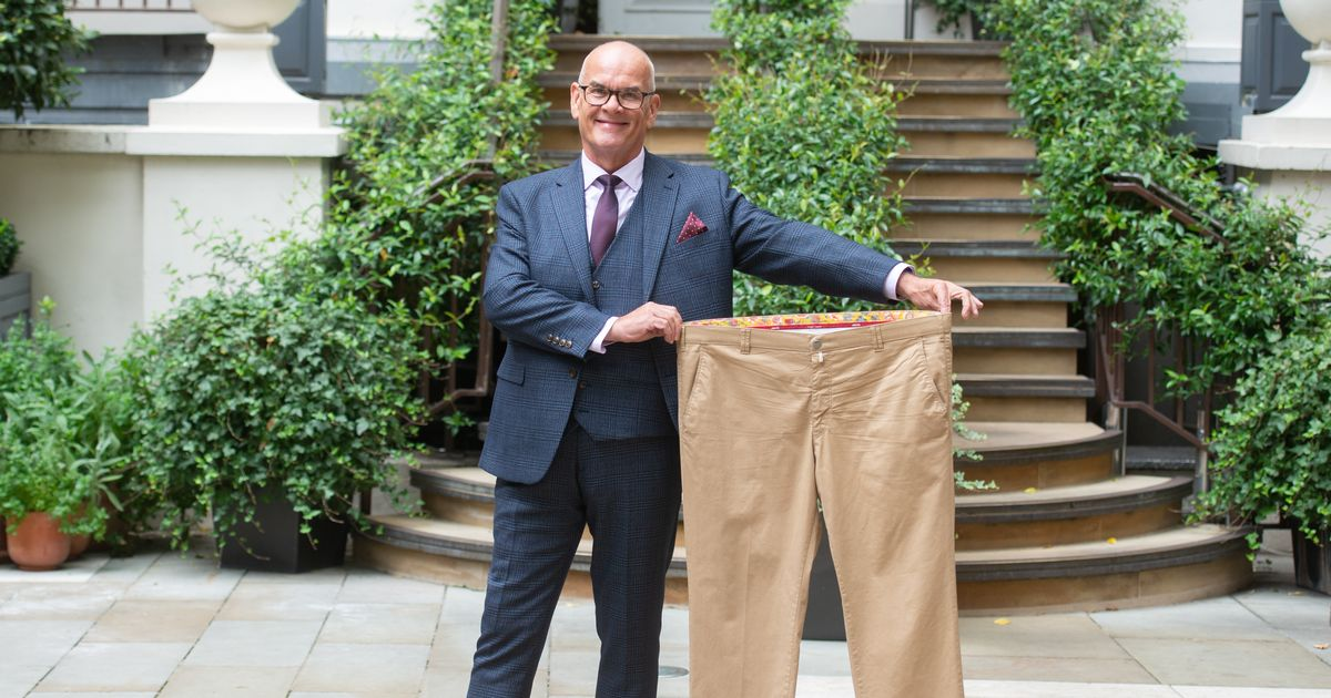 Overweight ex-detective whose heart stopped for 10 minutes sheds nine stone to win slimmer award